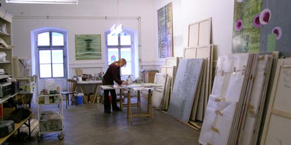 Maike Tersch im Künstlerinnenporträt im SWO | Kunstportal Baden-Württemberg